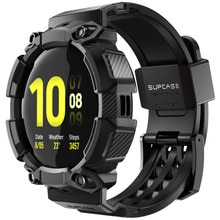 SUPCASE UB Pro Case For Samsung Galaxy Watch Active 2 (44mm) Rugged Protective Cover with Strap Bands For Galaxy Watch Active 2
