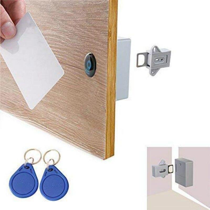 الذكية التعريفي قفل للدرج غير مرئية المخفية تتفاعل الحرة فتح ذكي الاستشعار قفل خزانة خزانة خزانة الأحذية قفل للدرج