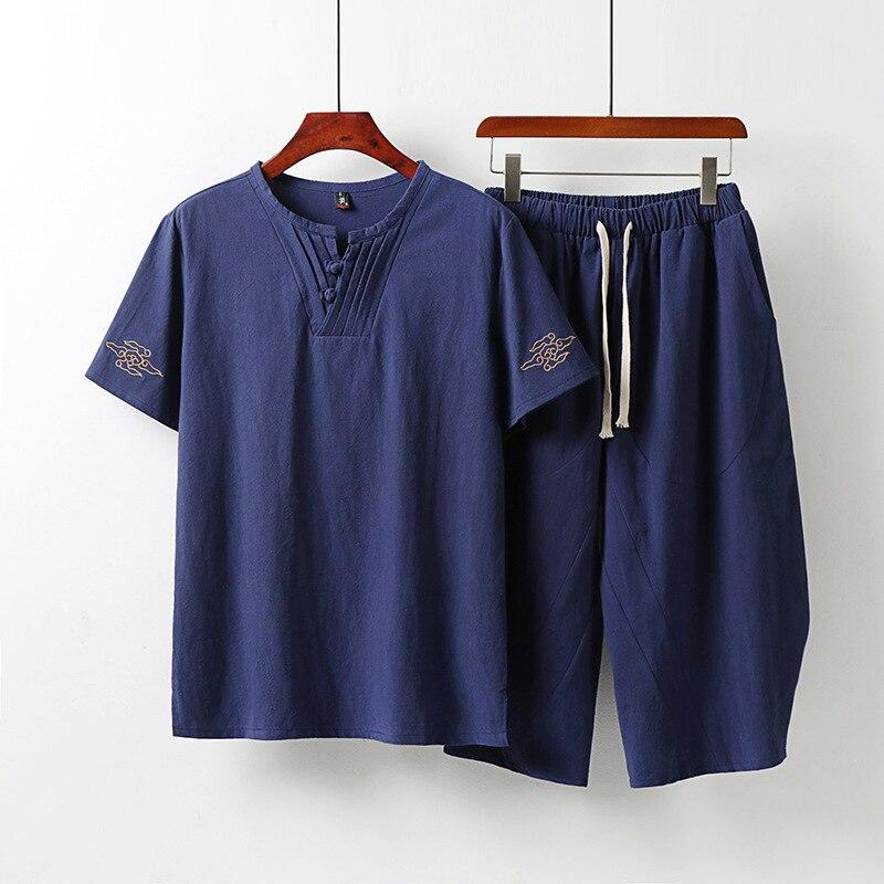 طقم بدلة رجالي غير رسمية موديل 2020 موديل xqj21106