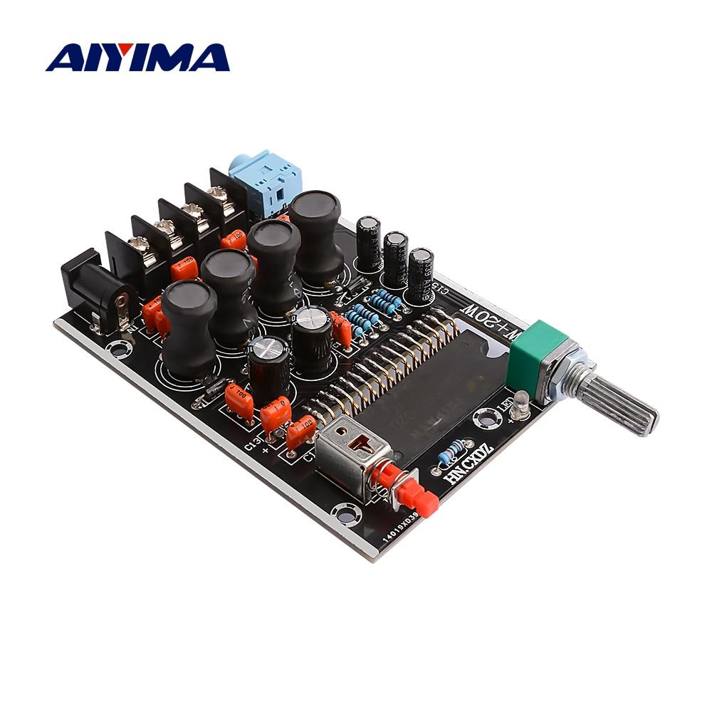 AIYIMA TA2020 amplificateur numérique carte Audio 20Wx2 amplificateur de puissance stéréo classe T son haut-parleur amplificateur Home cinéma DC12V