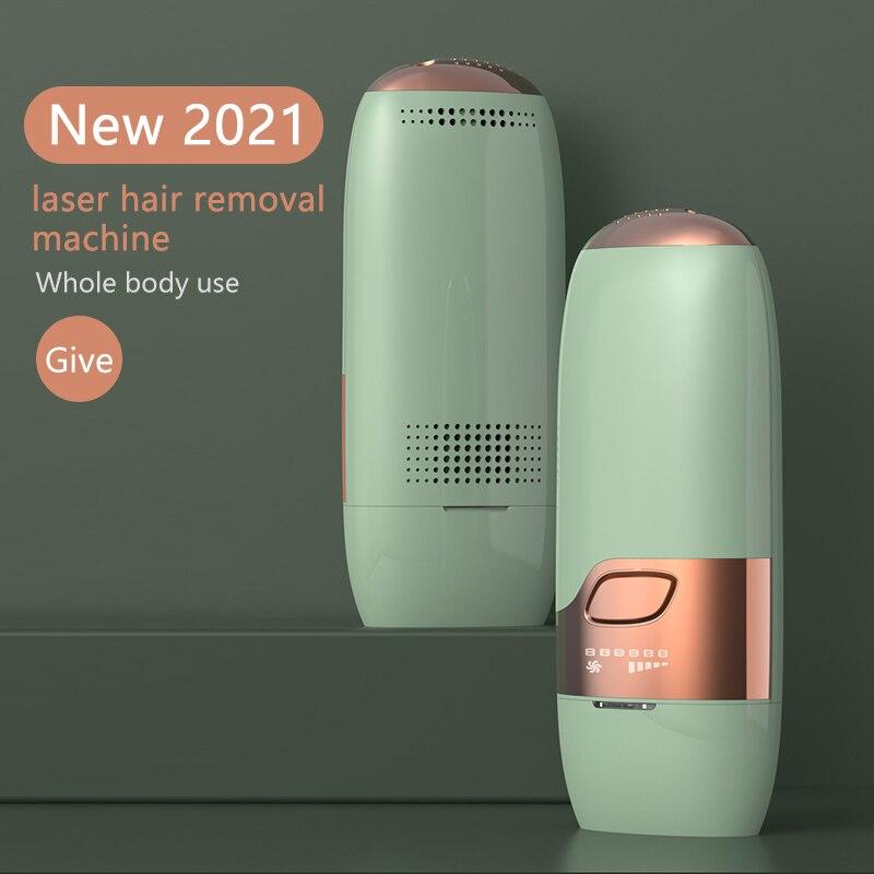 Depiladora eléctrica IPL para mujeres y hombres, depilación láser mejorada a 1000,000...