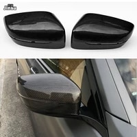 carbon fiber replacement side mirror cover caps shell for bmw 7 seies 730i 740i 750i 760i lhd 2016 2018 g11 oem style car cap