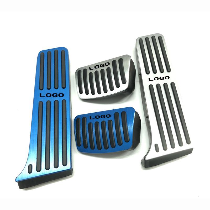 Автомобильные аксессуары для LEXUS UX IS GS LS NX CT ES200 ES250 ES300 RX270/300 AT, акселератор, тормоз, подставка для ног, педали, Стайлинг, наклейка