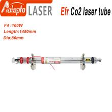Efr СО2 лазерная трубка F4 100 Вт-120 Вт СО2 стеклянная лазерная трубка стеклянная Лазерная лампа для СО2 лазерная гравировка машина для резки