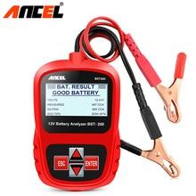 ANCEL BST200 Pro testeur de batterie de voiture 12V batterie de voiture 1100CCA analyseur de batterie outil de Scanner automobile testeur multi-langues