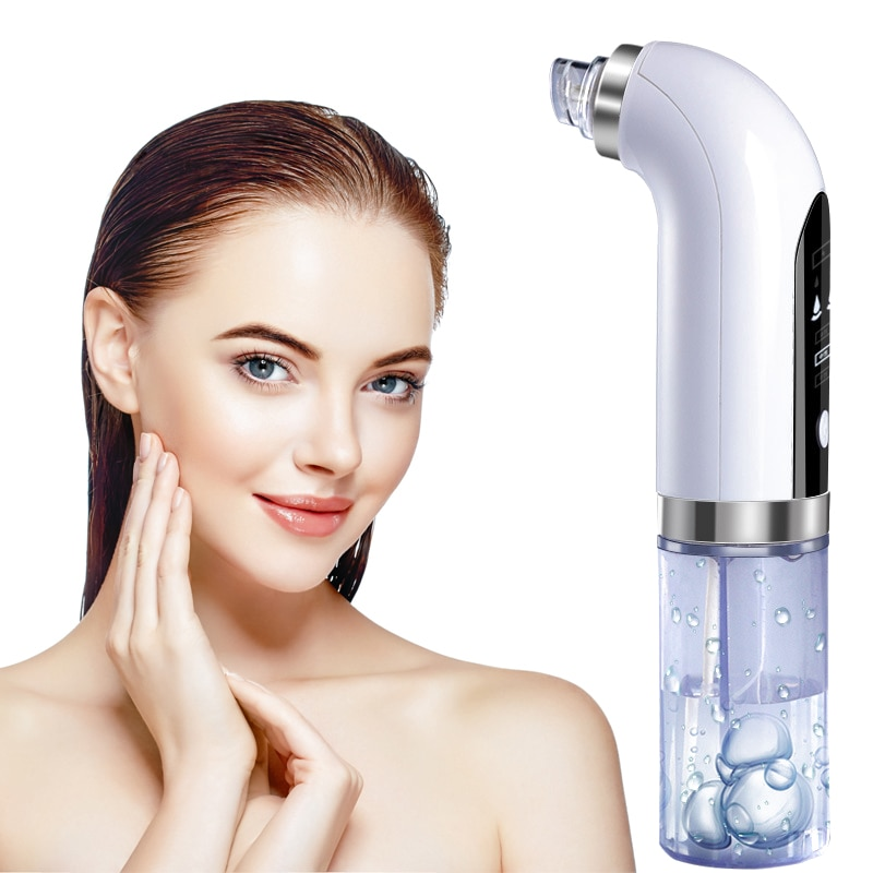 Electric Small Bubbles to Remove Blackheads and Acne Beauty Skin Care Tool USB Charging Water Cycle Deep Cleansing Facial Pore