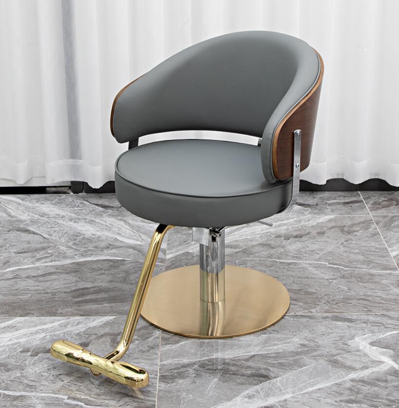 Стул парикмахерский в стиле интернет-знаменитостей, современный простой стул для парикмахерской, новейший стул для стрижки волос в парикма...