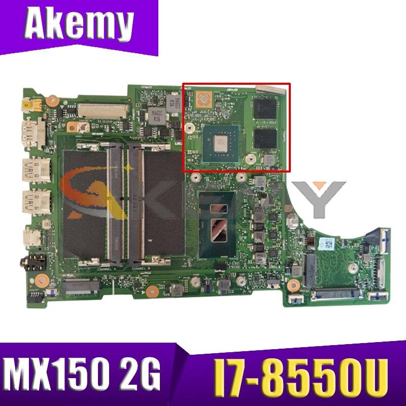 لشركة أيسر SF315-52 SF315-52G اللوحة الأم للكمبيوتر المحمول مع I7-8550U وحدة المعالجة المركزية MX150 2G-GPU DDR4 100% اختبار العمل ER5EA اللوحة الرئيسية