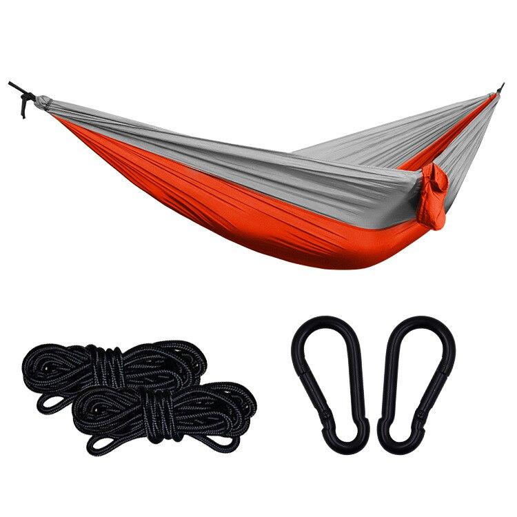 Hamaca De acampada para una sola persona, Hamaca De tela De paracaídas...