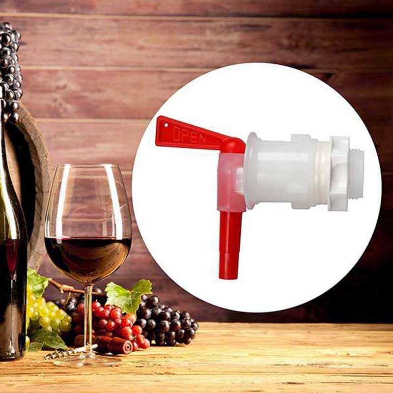 Cubo de embotellado de cerveza Spigot de plástico, grifo de reemplazo Spigot, fermentador cerveza Keg Spigot, hogar DIY fermentador de vino grifo, Bar herramientas