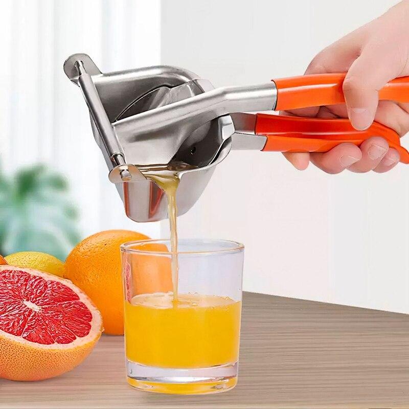 عصارة الحمضيات عصارة يدوية الفولاذ المقاوم للصدأ عصارة الليمون عصارة الفاكهة البرتقال أداة المطبخ الملحقات