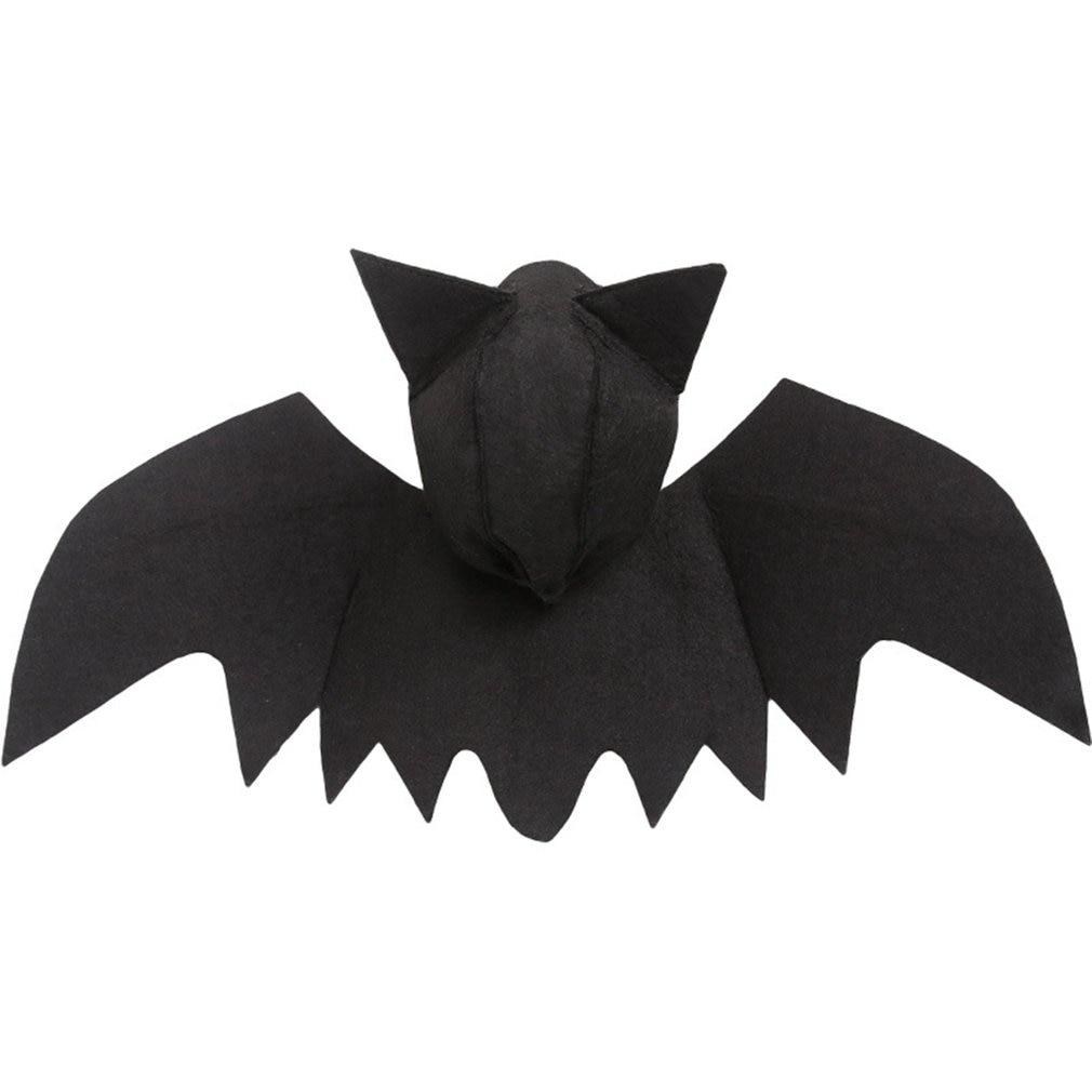 Halloween pet bat roupas com orelhas filhote de cachorro gato horror simulação de pelúcia bat simulação roupas transformando trajes