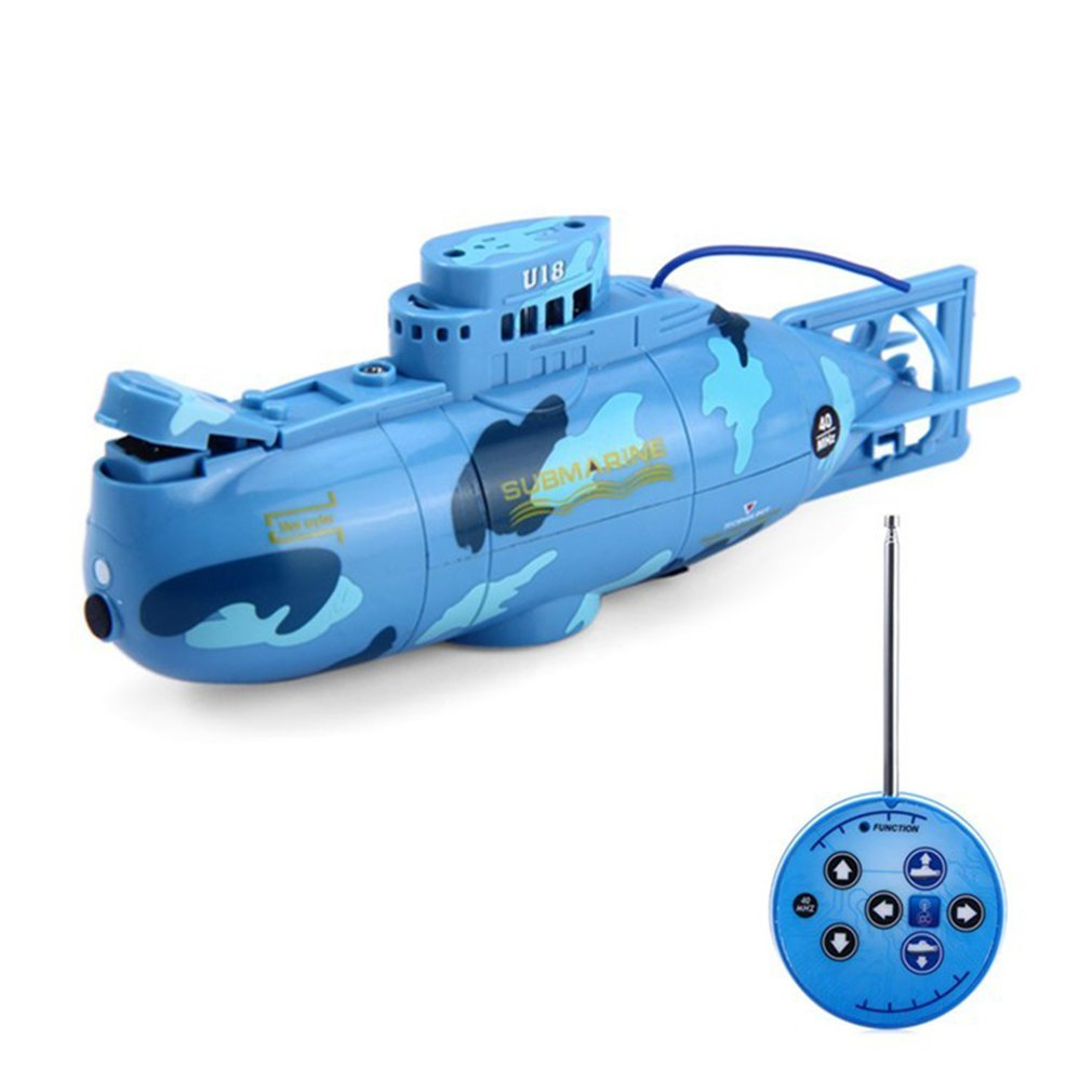 Criar rc submarino lancha barcos de controle remoto sob a água submarino simulação modelo brinquedos elétricos presente brinquedo para crianças adultos