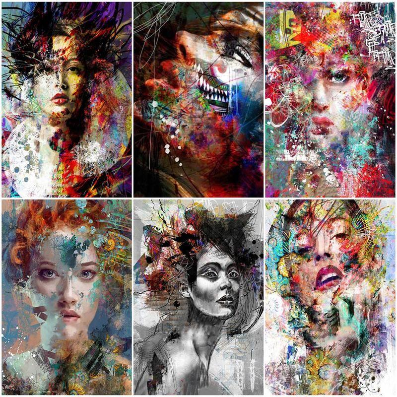 набор для рисования по номерам цветной элегантность в белом марка спейна 40 x 50 см Набор для рисования по номерам на холсте, 40 х50 см