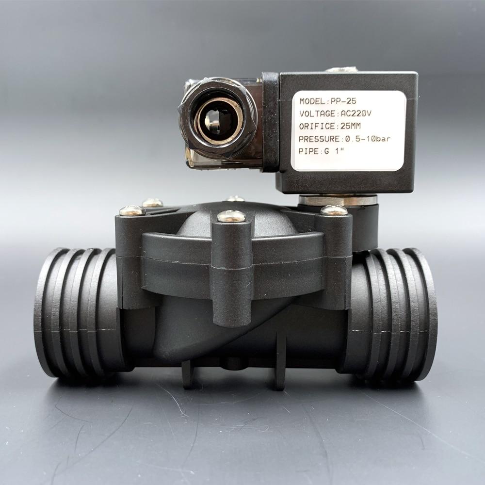 ebowan g1 4 24v 12v water solenoid valves normally closed 2 way dc 0 120psi 0 0 8mpa ro solenoid valve Valve,Solenoid Valve,Water Valves,1/2 3/4 1 2/2-way Pilot type Plastic Normally Closed ,10bar AC220V DC12V 24V NBR/EPDM/VITON