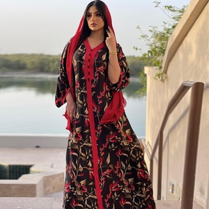 African Dresses For Women New Style Classic African Dashiki Fashion Loose Long Dress Africa Clothes Muslim Fashion Abaya
