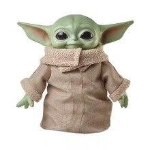Star Wars Yoda bébé figurine jouets chauds Anime bébé Yoda figurine jouets daction Yoda maître Figuras poupée figurines daction Rinquedo