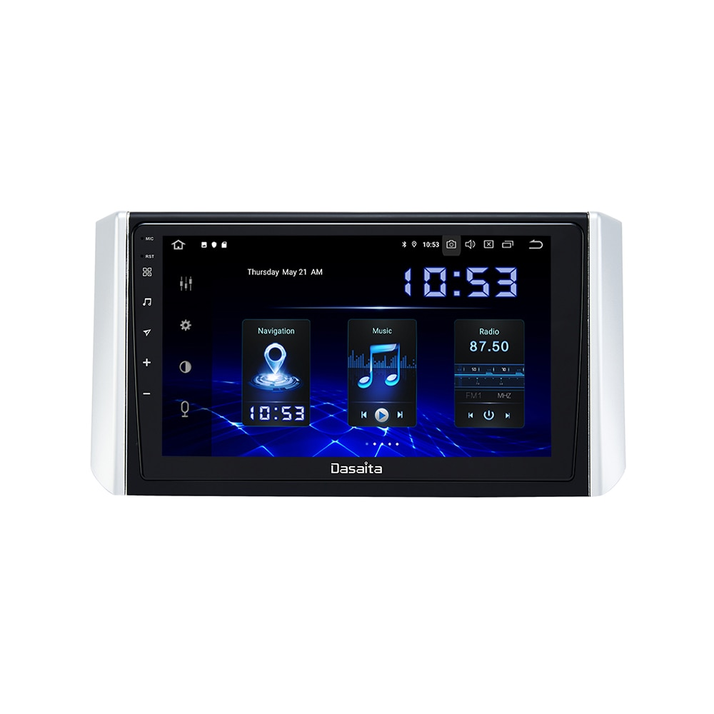 "Roadna 9 ""IPS Touch screen Android 10 Xpander 2017 2018 TDA7850 GPS Do Bluetooth Rádio Do Carro para Mitsubishi MP3 Jogador 64G ROM"