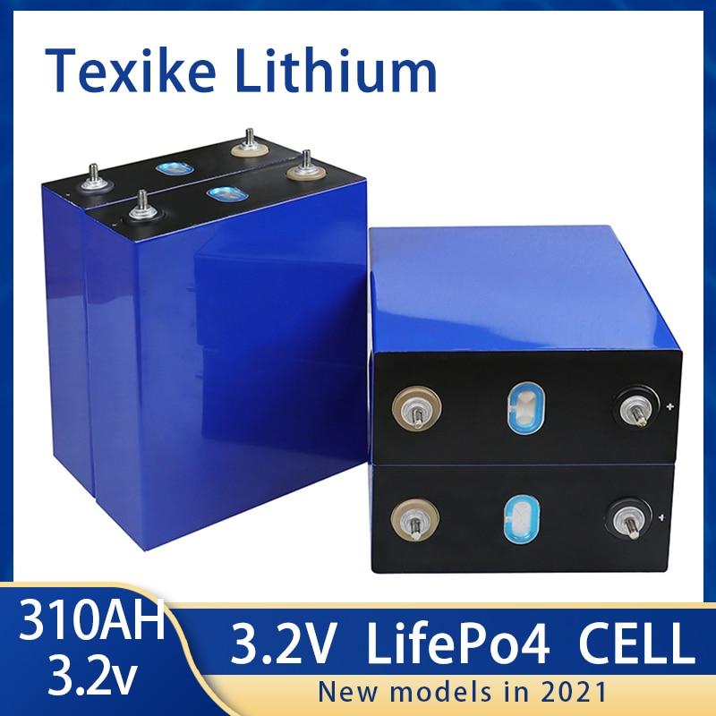 CATL 3,2 فولت 310AH 2 قطعة زيلين ماركي نيوي 12 فولت Lifepo4 Batterie الصف أ لتقوم بها بنفسك 24 فولت 48 فولت Akku حزمة الاتحاد الأوروبي UNS Steuer Freies Mit