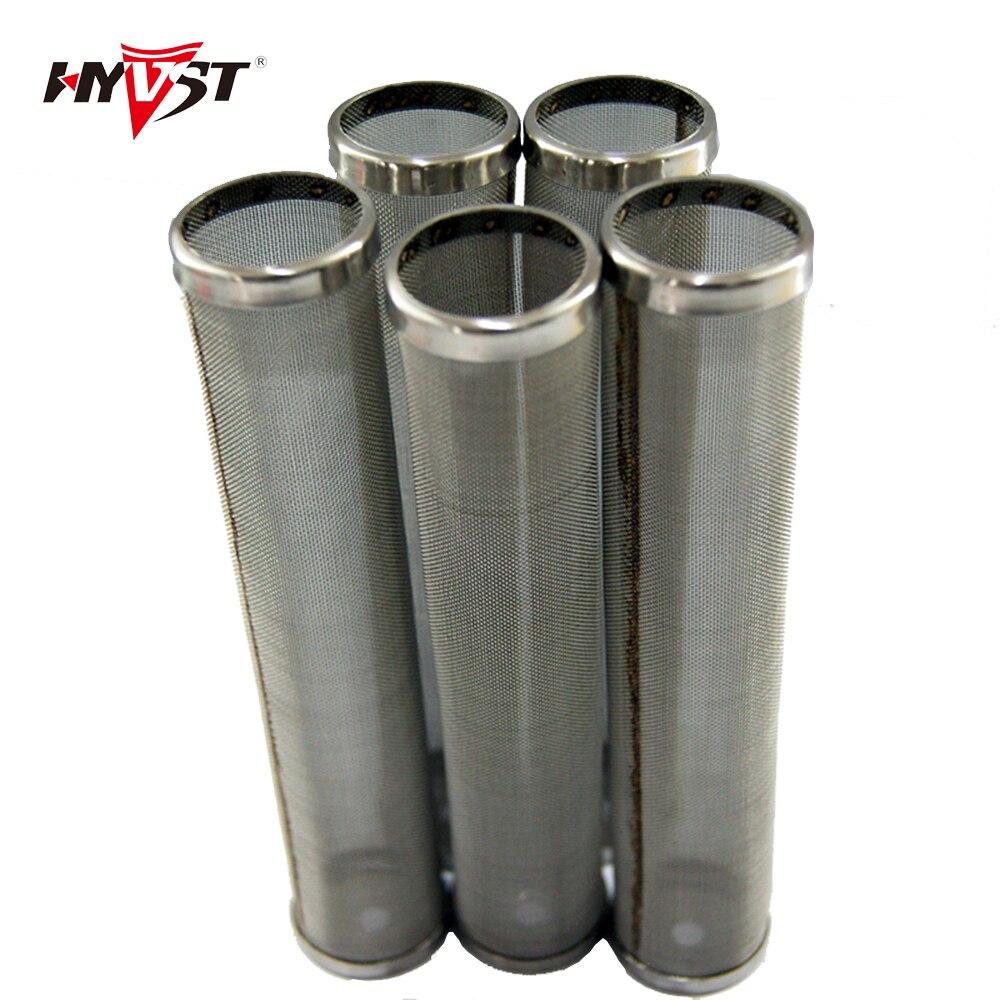 Filtro de bomba de colector HP de posventa, 1 capa con alas, malla de 100mm (5 uds.) 30/60/150/200/144