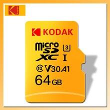 KODAK Micro Sd KARTE 128 gb 64 gb 32 gb 16 gb U1 TARJETA micro sd 4 k U3 256GB 512GB cartao de memoria TF karte Speicher Karte Class 10
