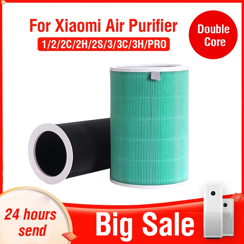 Hepa Activated Carbon Filter for Xiaomi Air Purifier 2 2C 2H 2S 3 3C 3H Pro PM2.5 Hepa Filter Xiaomi Air Purifier 2S Filter mexi air purifier hepa filter cartridge carbon fiber formaldehyde removal for original xiaomi oled display smart air purifier 2s