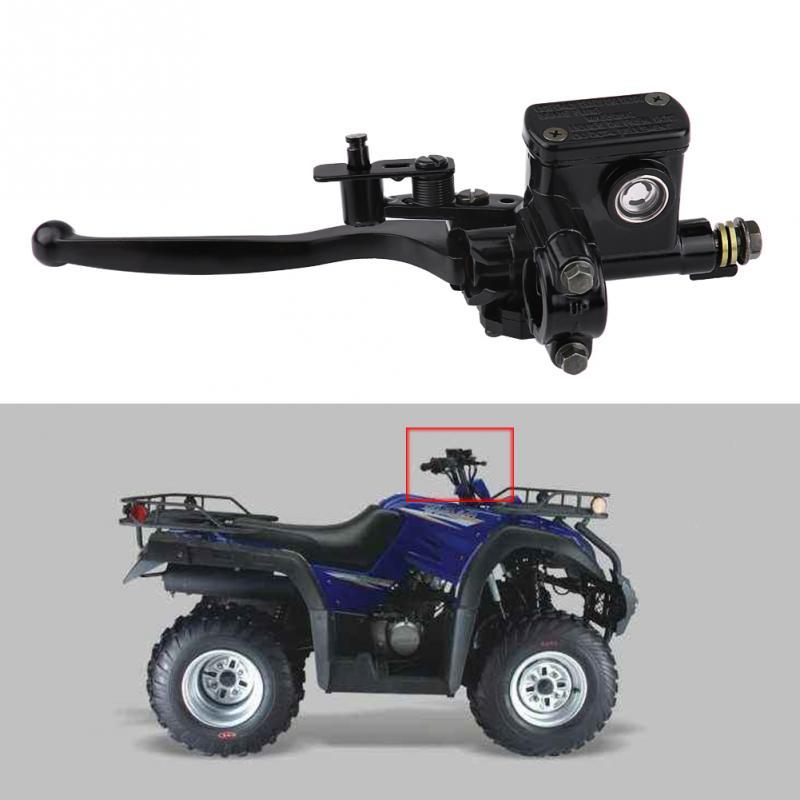 """7/8 """"22 мм передний левый главный цилиндр тормозной муфты рычажный насос для 50cc 110cc 150cc Quad Bike ATV части мотоцикла из алюминиевого сплава"""