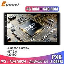 Eunavi-autoradio universel 2 Din 7 'Android 9.0   Autoradio universel, Double din, GPS, Navigation, Pc vidéo, WIFI USB 2din BT, écran tactile