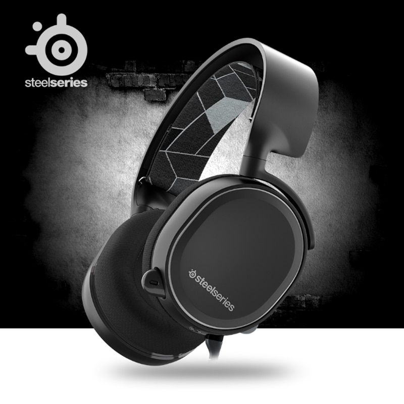 SteelSeries Arctis 3, auriculares de Gaming con plataforma para PC, PlayStation 4, Nintendo Switch VR, Android