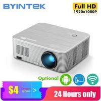 BYINTEK     projecteur intelligent K15 pour Home cinema  Full HD  4K  1080P  LED  Android  3D  300 pouces