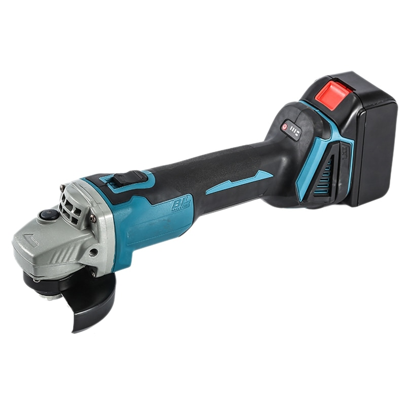 NEW-100mm Variable Brushless Cordless Angle Grinder Electric Grinding Machine for Makita 18V-21V Battery with EU Plug