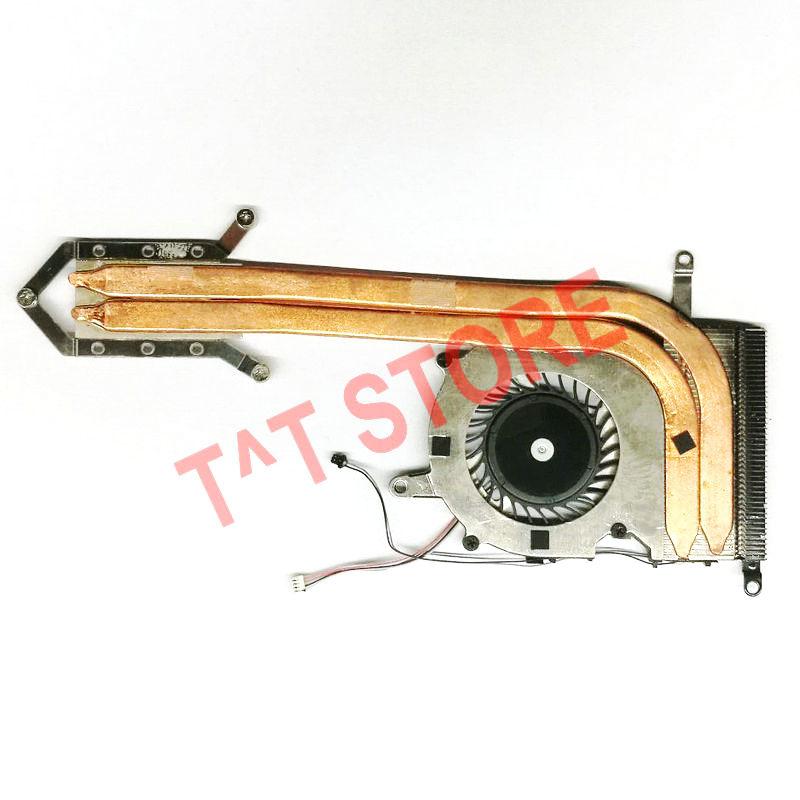 Original para Sony Vaio Pro13 dvp13 dvp132 dvp132a ventilador ensamble de disipador de calor radiador enfriador 300-0001-2755 UDQFVSR01DF0