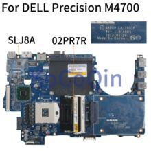 KoCoQin Laptop motherboard For DELL Precision M4700 SLJ8A Mainboard CN-02PR7R 02PR7R QAR00 LA-7931P