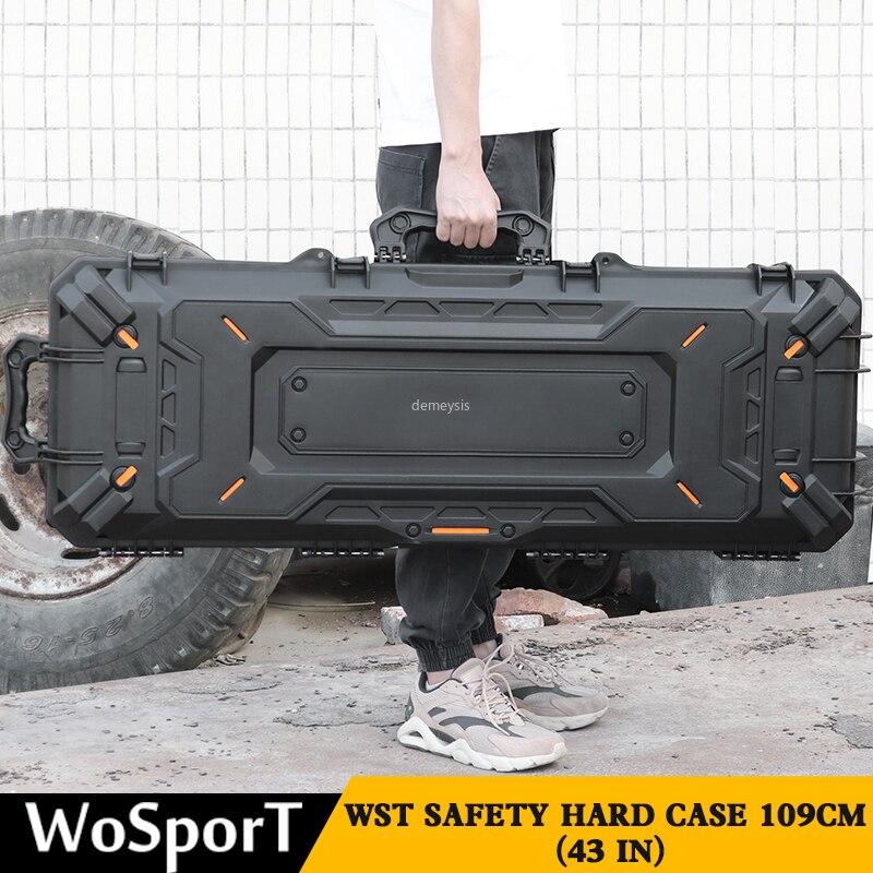 Tiro de Caça Case de Armazenamento de Proteção ao ar Livre Arma Carry Case Exército Tático Combate Pistola Portátil Militar Handgun Bag