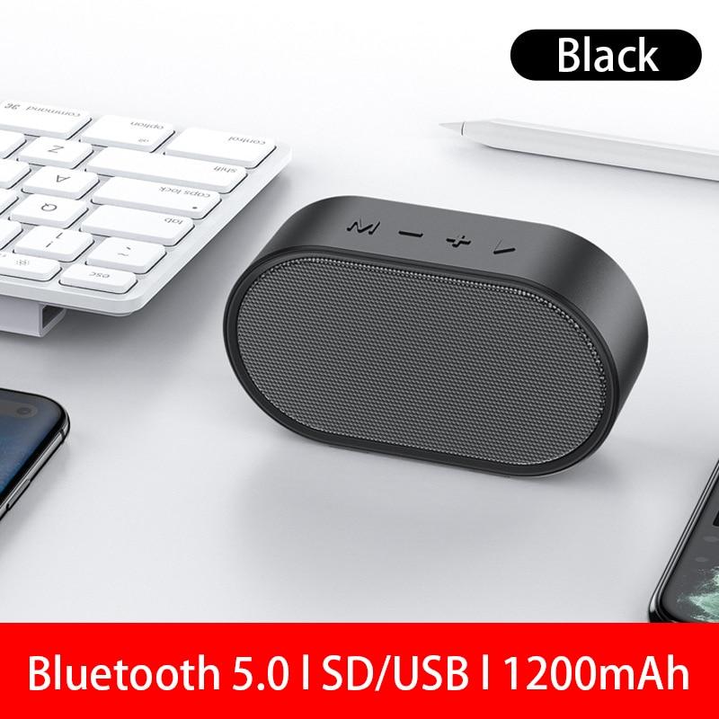 2021 Mini Altavoz con Bluetooth portátil Caixa De Som portátil Altavoces USB...