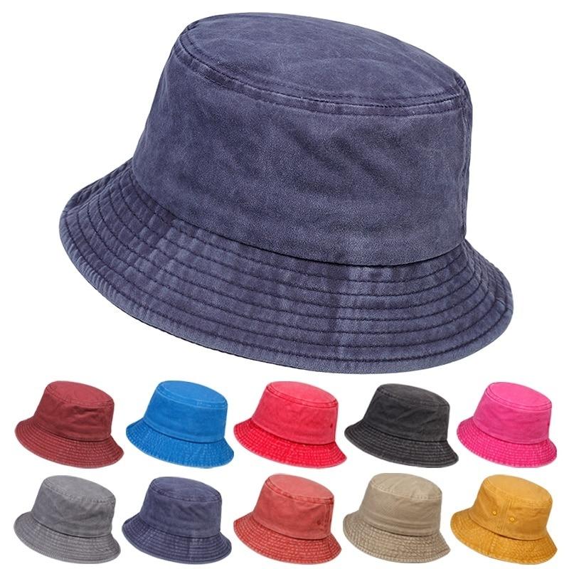 New wild multicolor light board fisherman hat outdoor fishing sunscreen hat unisex wild bucket hat cotton casual basin hats