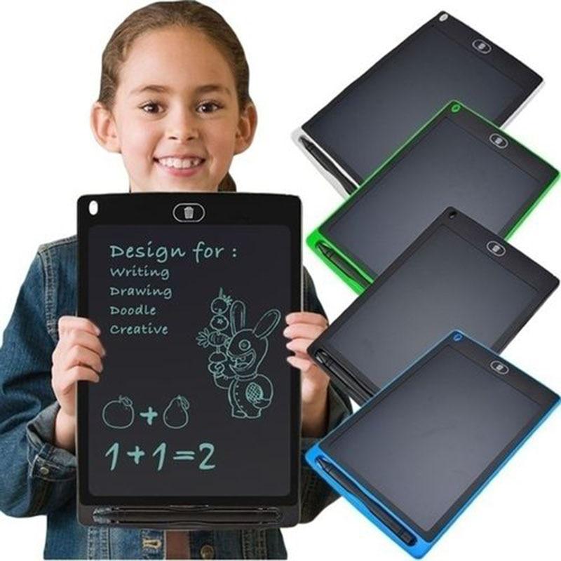 ЖК-планшет для рисования 12 дюймов, цифровой планшет для рисования, подушечки для рукописного ввода, портативный электронный планшет, ультра...