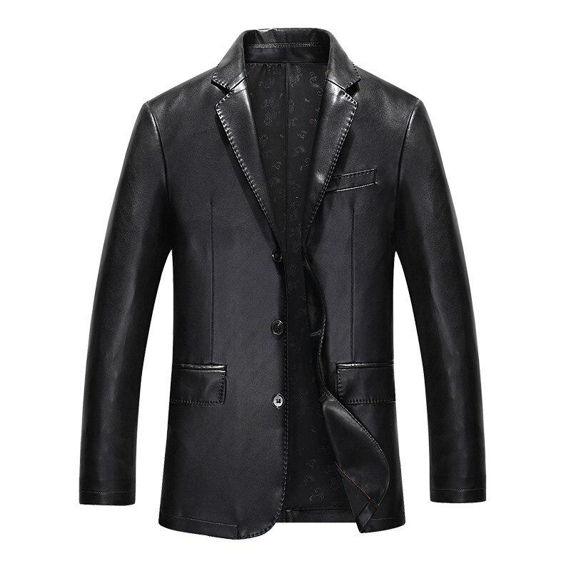 جلد رجالي 2020 ملابس جديدة جلد الغنم رجال الأعمال ملابس رياضية جلد رجالي معطف