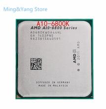 Kostenloser versand AMD A-Serie APU X4 A10-6800K A10 6800K FM2 Quad-Core CPU 100% arbeits richtig desktop-Prozessor