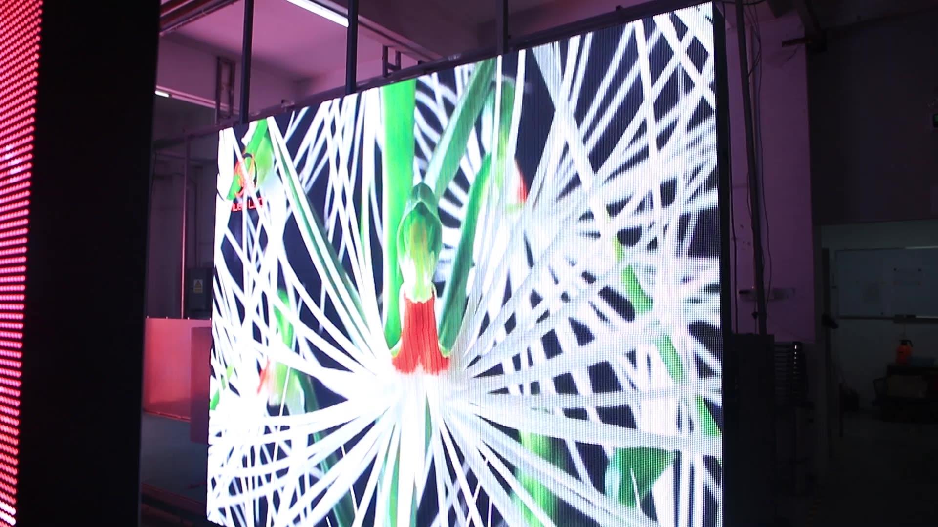 هد تلفزيون Led لوحة الشاشة PH5 كبير الرياضة فيديو PH5 سمد شاشة عرض ليد للملاعب P5 في الهواء الطلق كامل اللون 360 واط/متر مربع SMD2727