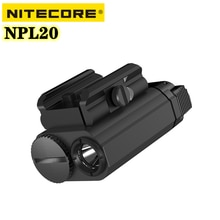 Original NITECORE NPL20 Tactical Gun Lamp 460Lumens Utilizes a CREE XP-G3 S3 LED Shooting Hunt Water