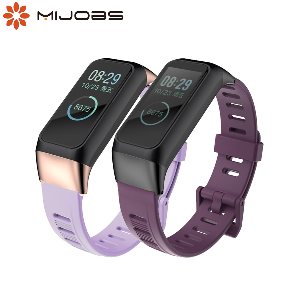 Wristband for Amazfit Cor 2 Strap Smart Watchband Silicone Bracelet for Huami Amazfit Cor 2 Wriststrap Wearable Accessories