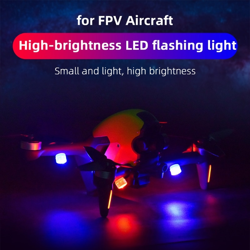 For Fpv Combo Night Navigation Crossing Machine Flash Warning Light Accessories R2JF enlarge