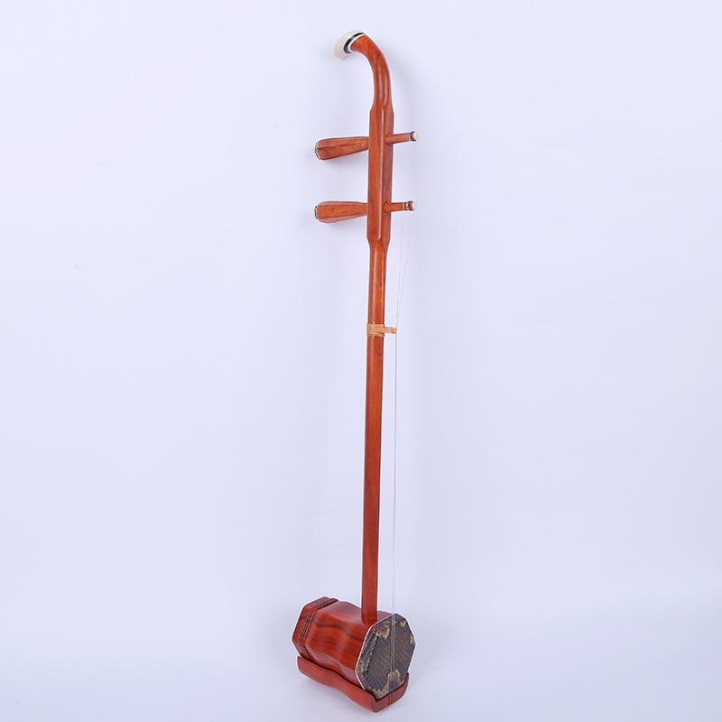 Best Chinese Erhu high quality  playing  mahogany Redwood erhu Chinese Two stings Violin musical instruments With Case Bow Rosin enlarge