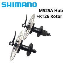 M525 Hub FH-M525A HB-M525A hub VTT 32 H 100 / 135mm 8/9/10/11 hız M525