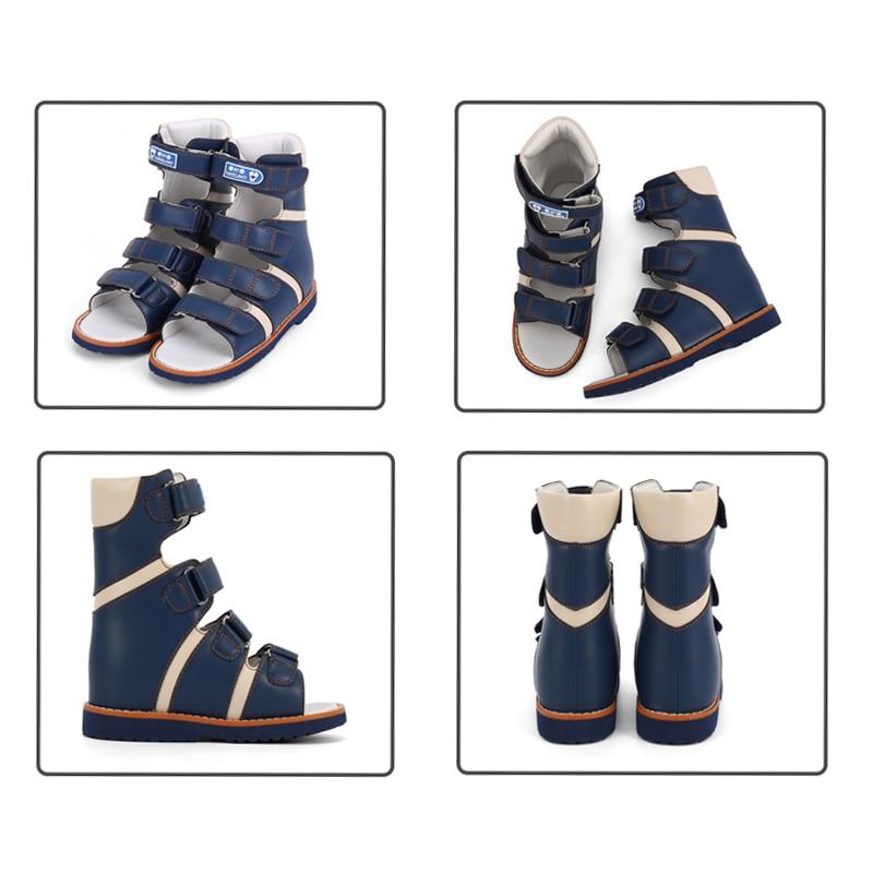 Ortoluckland Children's Orthopedic Shoes Girls Pink High Top Sandals For Baby Toddler Boys Correct Supinator Pronator Flatfeet enlarge