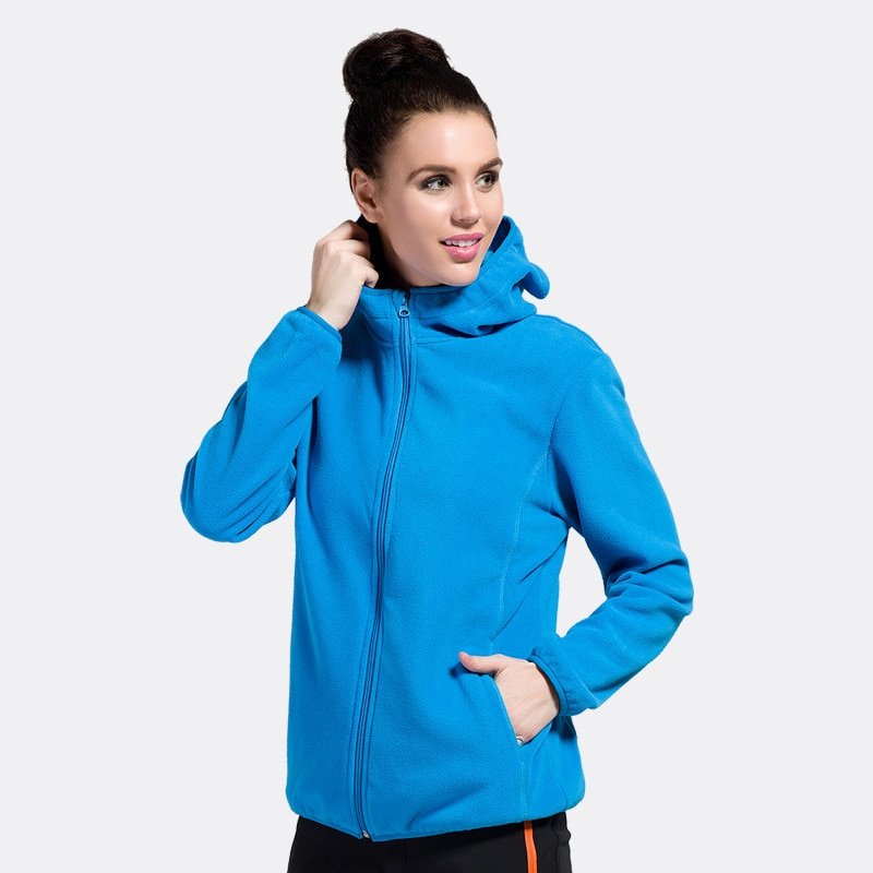 2019 New Women Winter Fleece Jackets Fashion Windproof Hoodies Ladies Long Sleeve Warm Jackets Coats S-XXL