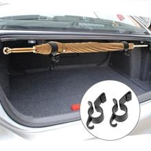 Car Rear Trunk Mounting Bracket Towel Hook for Nissan Qashqai Pulsar March 370Z Micra Juke Note Tiida Wingroad NV200
