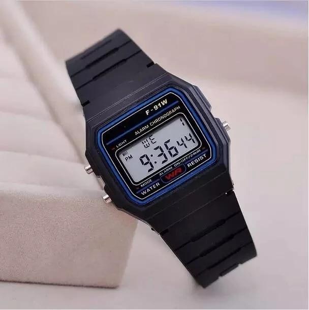 Недорогие Водонепроницаемые светодиодные часы для мужчин и женщин, повседневные спортивные часы, электронные цифровые наручные часы унисе...