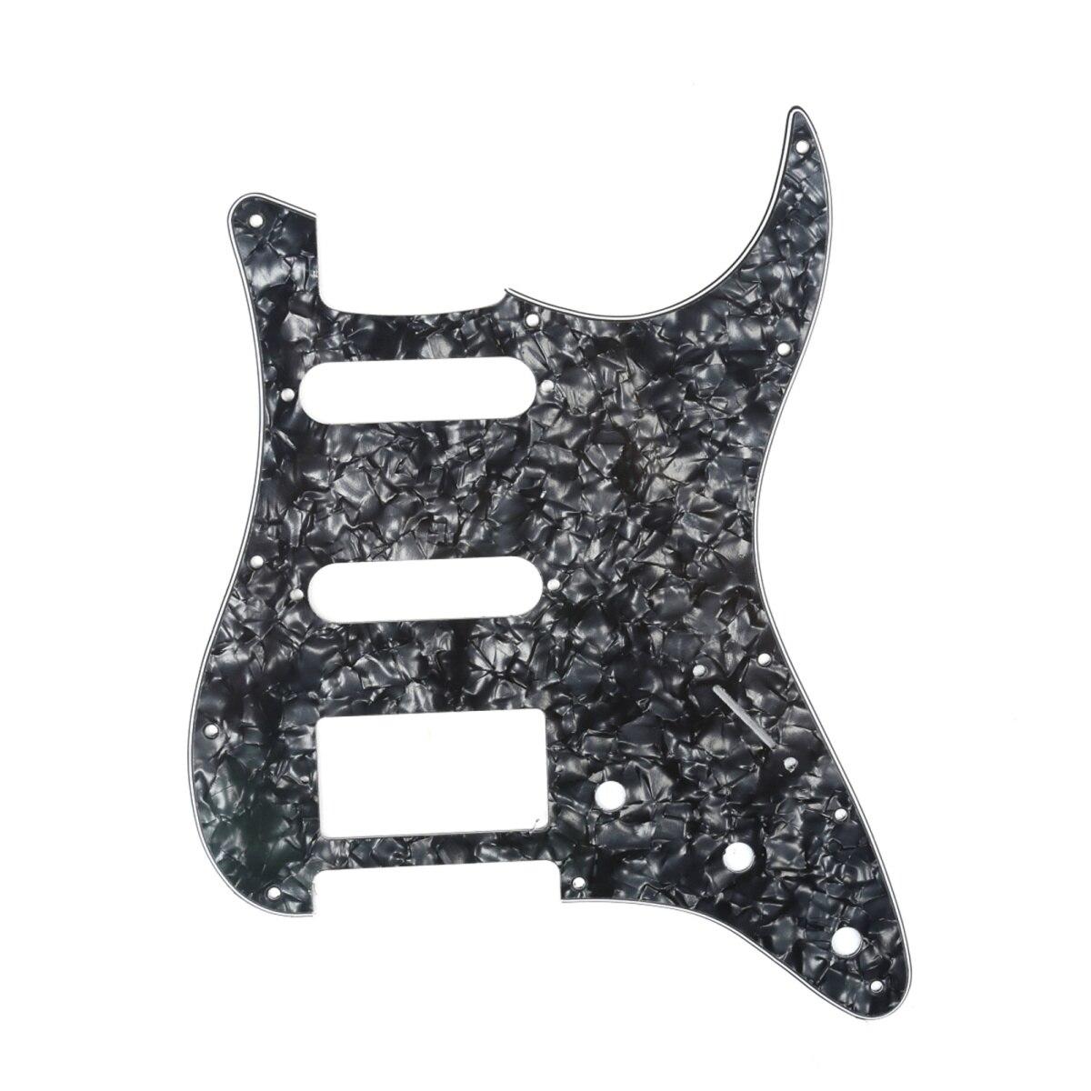 Musiclily HSS golpeador de guitarra de 11 agujeros, Strat para Fender USA/mexicana,...